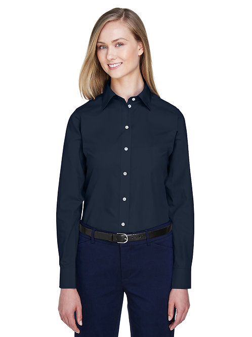 Devon & Jones Ladies' Crown Woven Collection™ Solid Broadcloth D620W