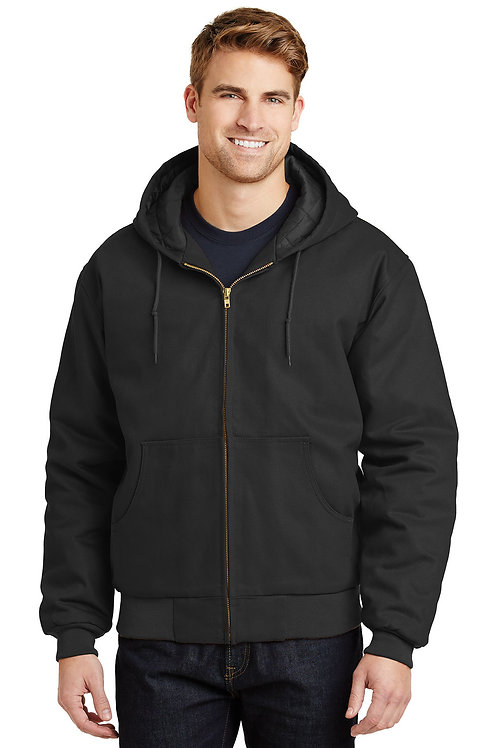 CornerStone® Tall Duck Cloth Hooded Work Jacket TLJ763H
