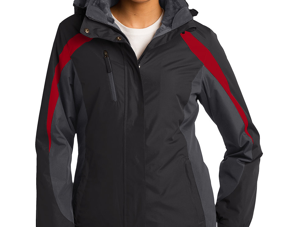 Port Authority® Ladies Colorblock 3-in-1 Jacket L321