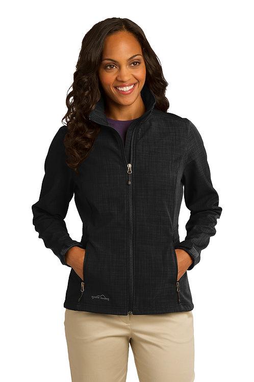 Eddie Bauer® Ladies Shaded Crosshatch Soft Shell Jacket EB533
