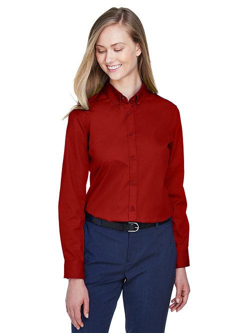 Core 365 Ladies' Operate Long-Sleeve Twill Shirt 78193