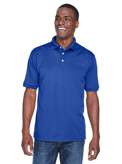 UltraClub Men's Platinum Performance Piqué Polo with TempControl Techno U8315