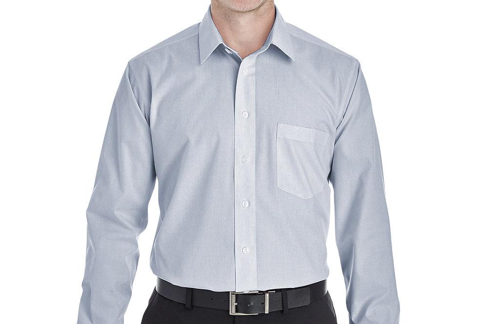 Devon & Jones Men's Crown Woven Collection™ Striped Shirt DG534