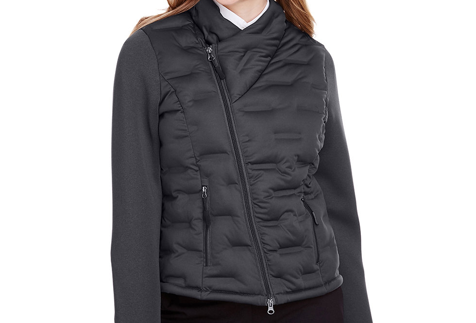 North End Ladies' Pioneer Hybrid Bomber Jacket NE710W