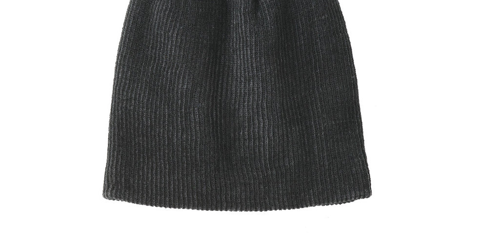 Port Authority Rib Knit Slouch Beanie C935