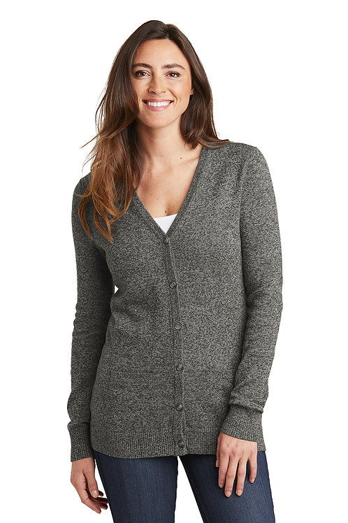 Port Authority® - Ladies Cardigan Sweater LSW415