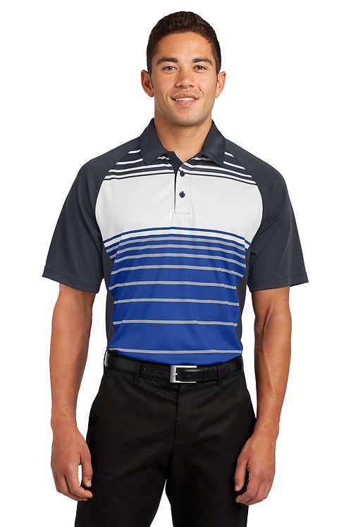 Sport-Tek Dry Zone Sublimated Stripe Polo ST600