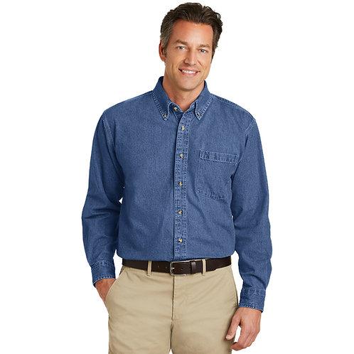 Port Authority Heavyweight Denim Shirt S100