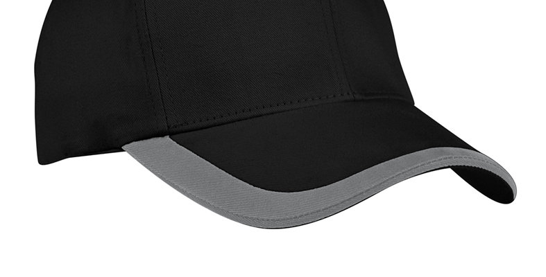 Port Authority Contrast Stripe Sandwich Bill Cap C867