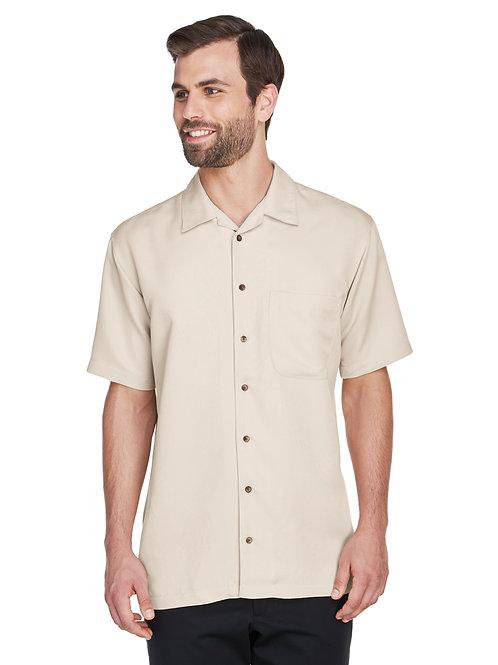 UltraClub Men's Cabana Breeze Camp Shirt 8980