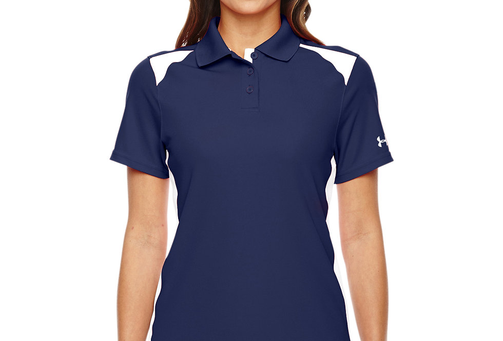 Under Armour Ladies' Team Colorblock Polo 1283975