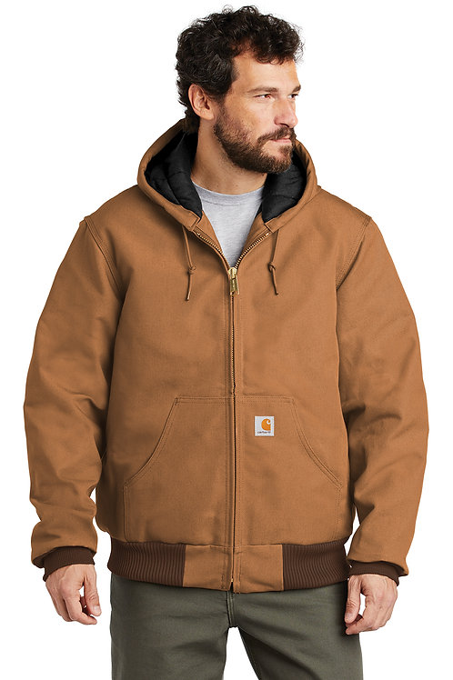 Carhartt ® Quilted-Flannel-Lined Duck Active Jac CTSJ140