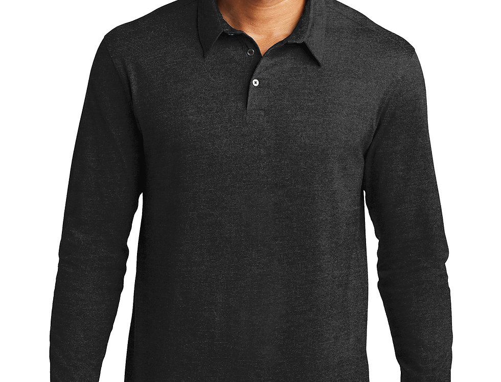 Port Authority Long Sleeve Meridian Cotton Blend Polo K577LS
