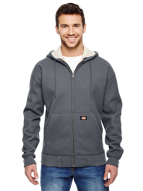 Dickies Men's 450 Gram Sherpa-Lined Fleece Hooded Jacket TW357