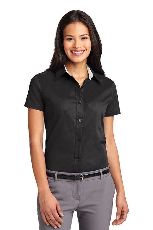 Port Authority® Ladies Short Sleeve Easy Care Shirt L508