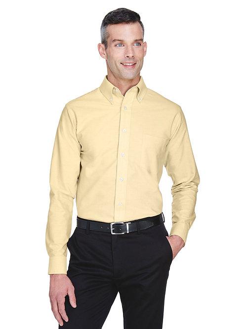 UltraClub Men's Classic Wrinkle-Resistant Long-Sleeve Oxford 8970
