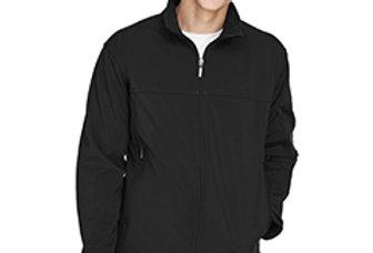 North End Men's Three-Layer Fleece Bonded Performance Soft Shell Jacket 88099