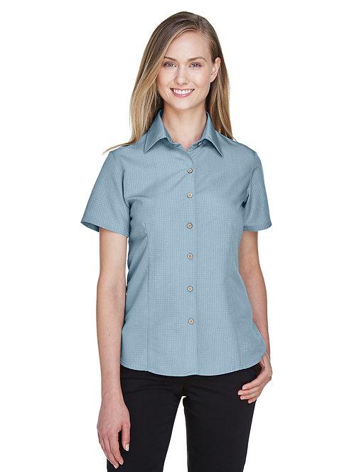 Harriton Ladies' Barbados Textured Camp Shirt M560W