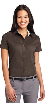Port Authority Ladies Short Sleeve Easy Care Shirt L508