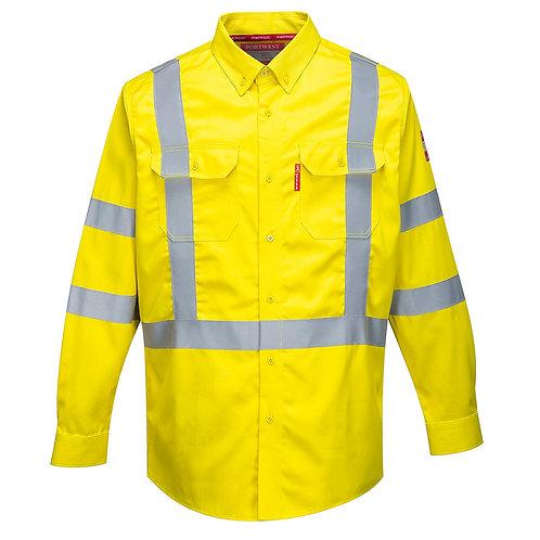 Bizflame 88/12 FR Hi-Vis Shirt FR95