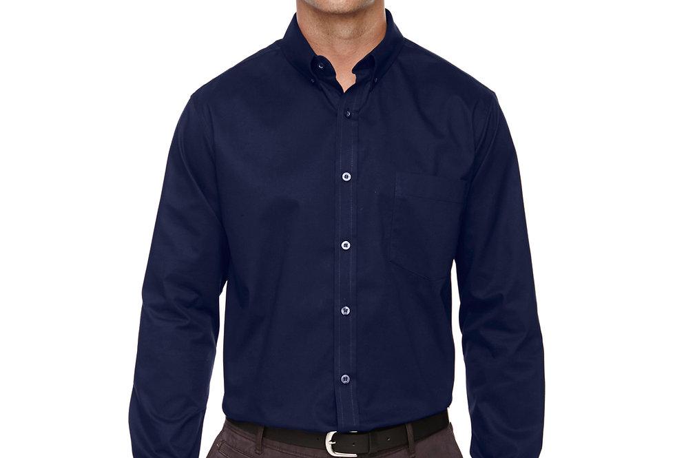 Core 365 Men's Tall Operate Long-Sleeve Twill Shirt 88193T