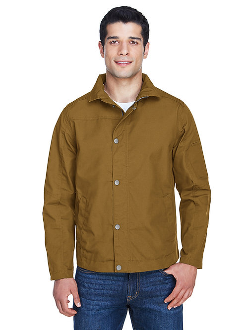 Harriton Men's Auxiliary Canvas Work Jacket M705