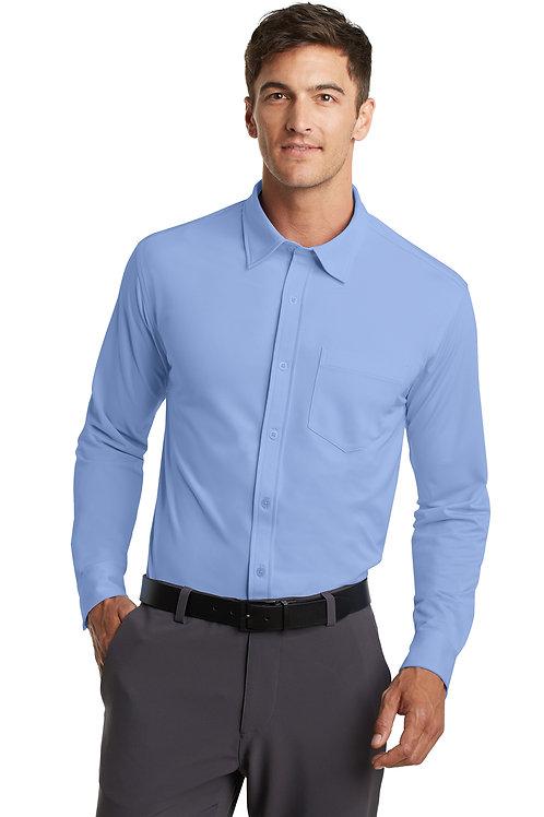 Port Authority Dimension Knit Dress Shirt K570