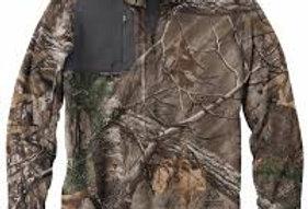 Dri Duck Men's 100% Polyester Nano Fleece TM 1/4 Zip Interval Pullover 7345