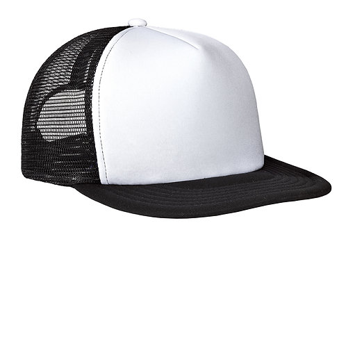 District Flat Bill Snapback Trucker Cap DT624
