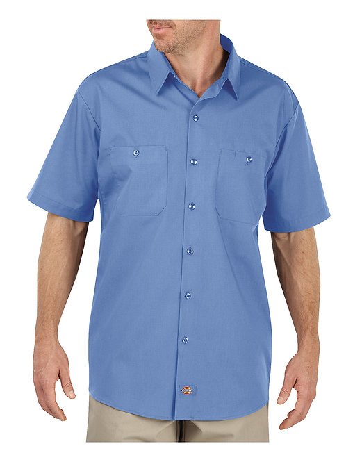 Dickies Men's 4.25 oz. MaxCool Premium Performance Work Shirt LS516