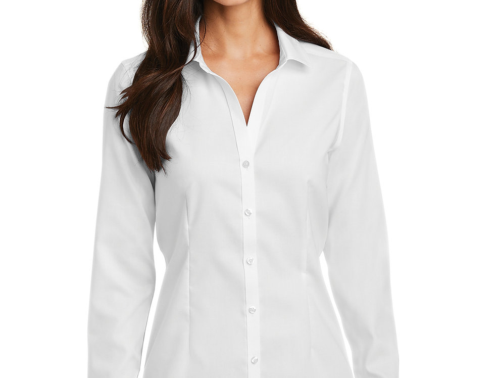 Red House® Ladies Pinpoint Oxford Non-Iron Shirt RH250