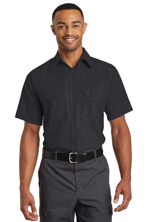 Red Kap® Short Sleeve Ripstop Crew Shirt SY60