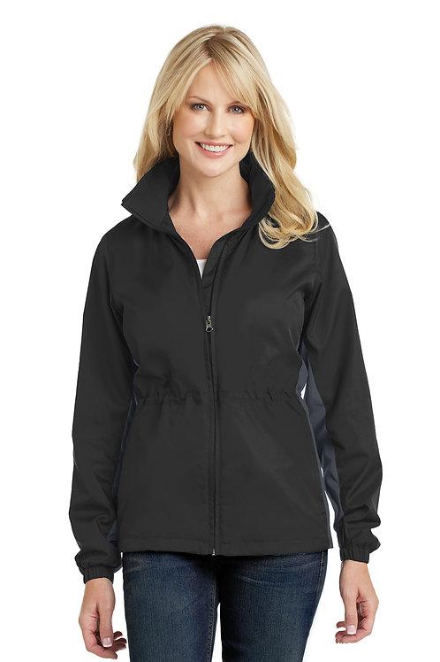 Port Authority® Ladies Core Colorblock Wind Jacket L330