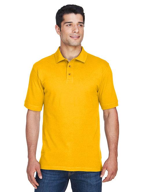 Harriton Men's 6 oz. Ringspun Cotton Piqué Short-Sleeve Polo M200