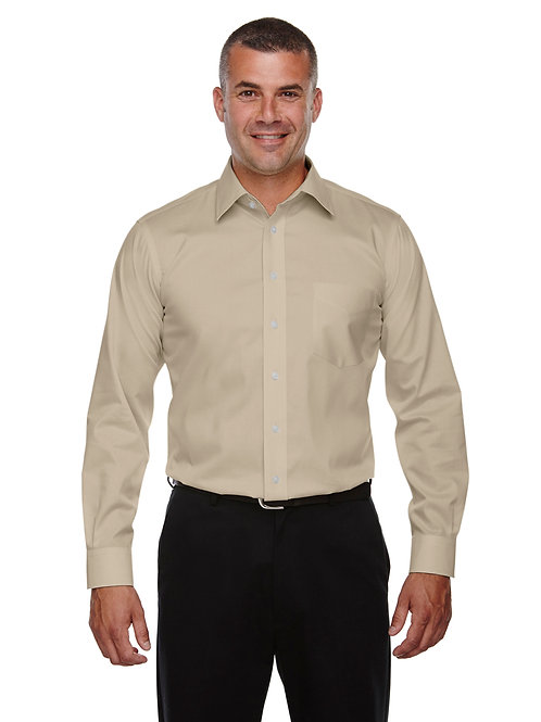 Devon & Jones Men's Tall Crown Woven Collection™ Solid Stretch Twill DG530T