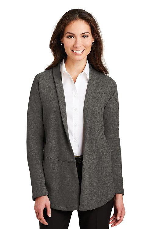 Port Authority® Ladies Interlock Cardigan L807