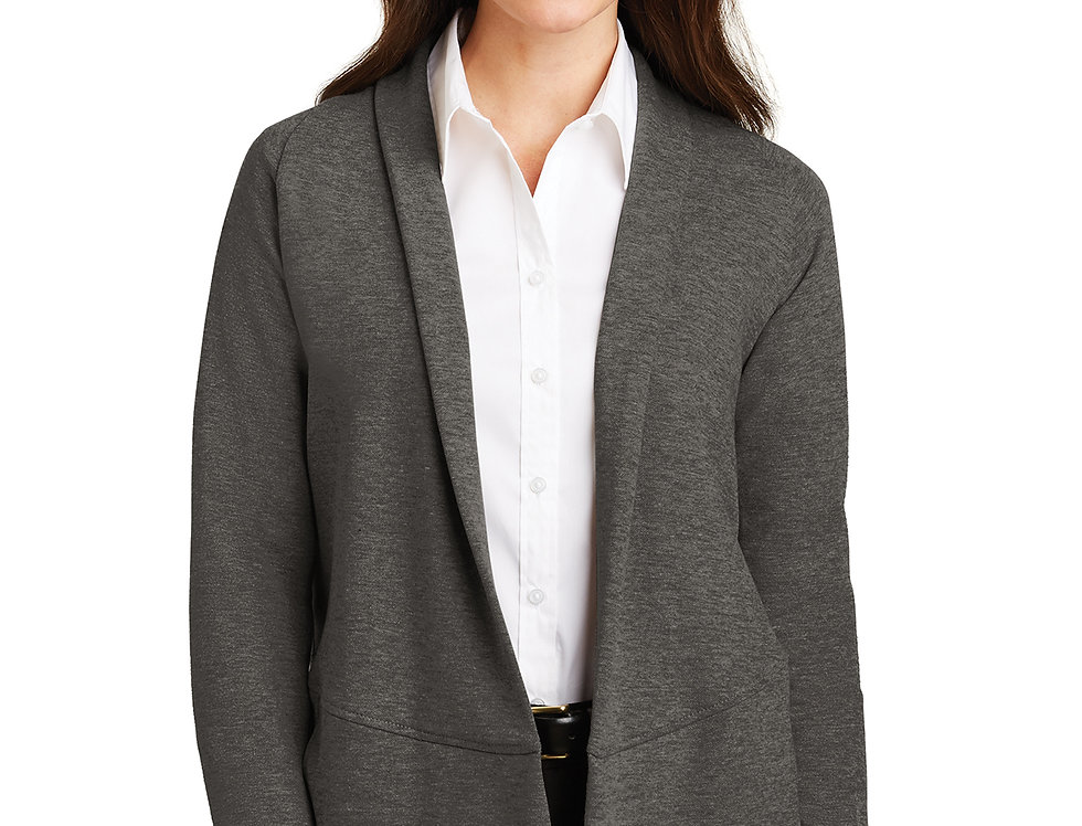 Port Authority® Ladies Interlock Cardigan L807