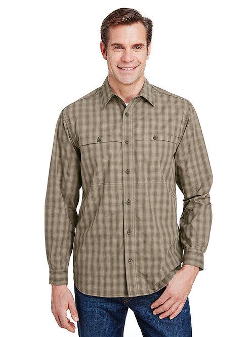 Dri Duck Yarn-Dyed Poplin Paseo Plaid Shirt  DD4465