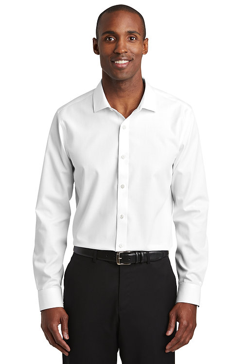 Red House ® Slim Fit Nailhead Non-Iron Shirt RH390