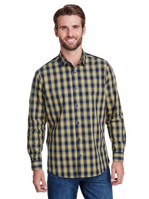 Artisan Collection by Reprime Men's Mulligan Check LongSleeve Cotton Shirt RP250