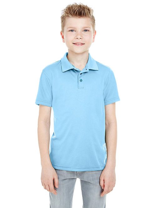 UltraClub Youth Cool & Dry Mesh Piqué Polo 8210Y