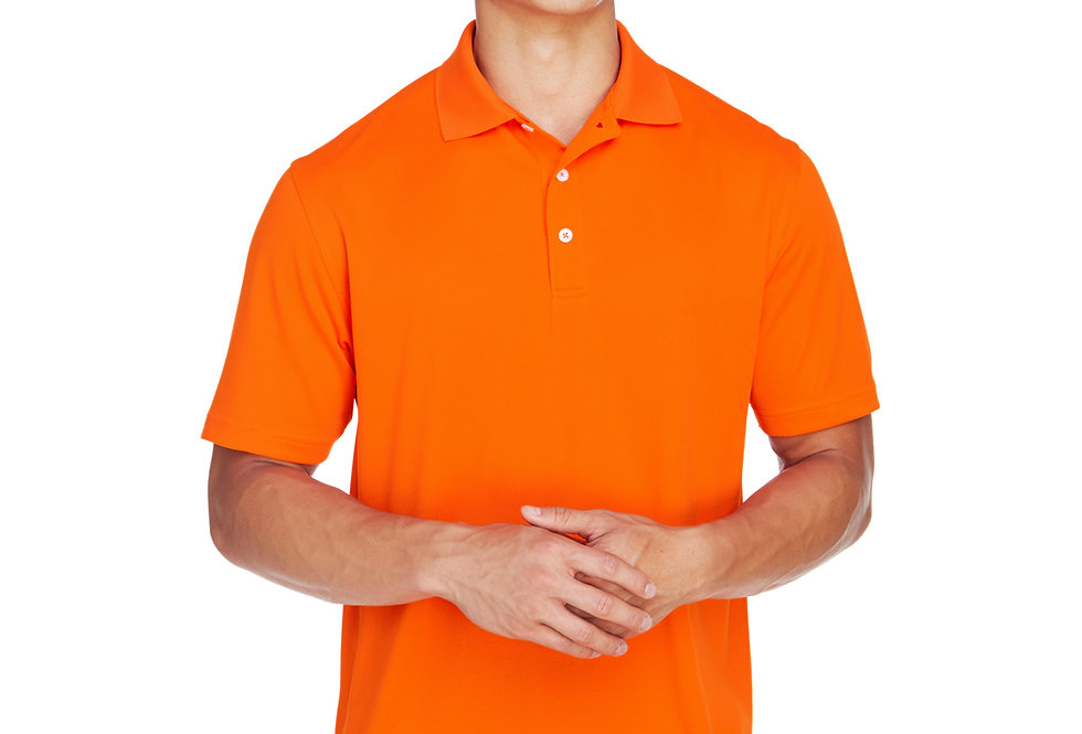 Harriton Men's Double Mesh Polo M353