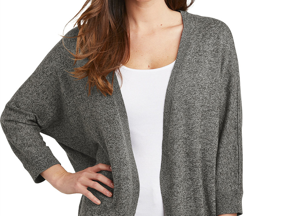 Port Authority ® Ladies Marled Cocoon Sweater LSW416
