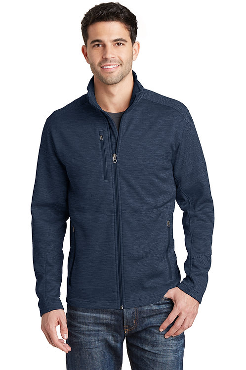 Port Authority® Digi Stripe Fleece Jacket F231