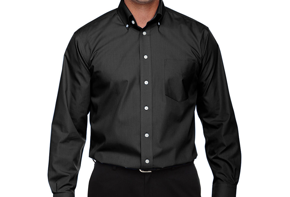 Devon & Jones Men's Tall Crown Woven Collection™ Solid Broadcloth D620T