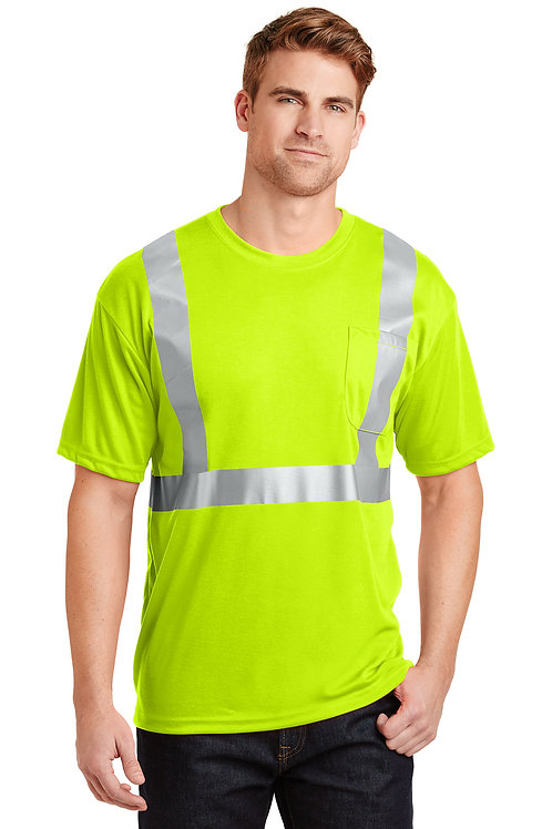 CornerStone® - ANSI 107 Class 2 Safety T-Shirt CS401