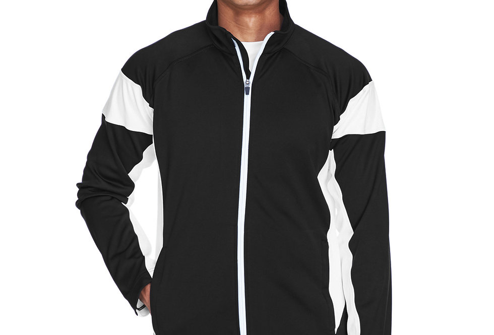Team 365 Men's Elite Performance Full-Zip TT34