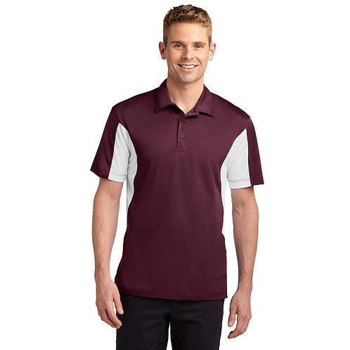 Sport-Tek Side Blocked Micropique Sport-Wick Polo ST655