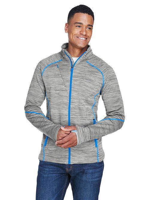 North End Men's Flux Mélange Bonded Fleece Jacket 88697