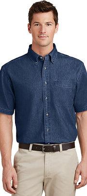 Port & Company Short Sleeve Value Denim Shirt SP11